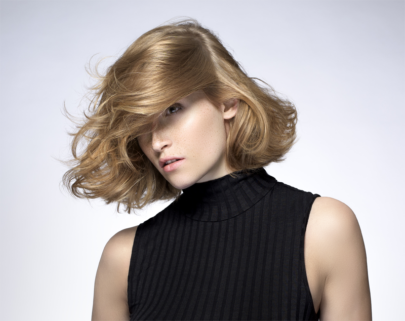 hairstyle by Andrew Collinge