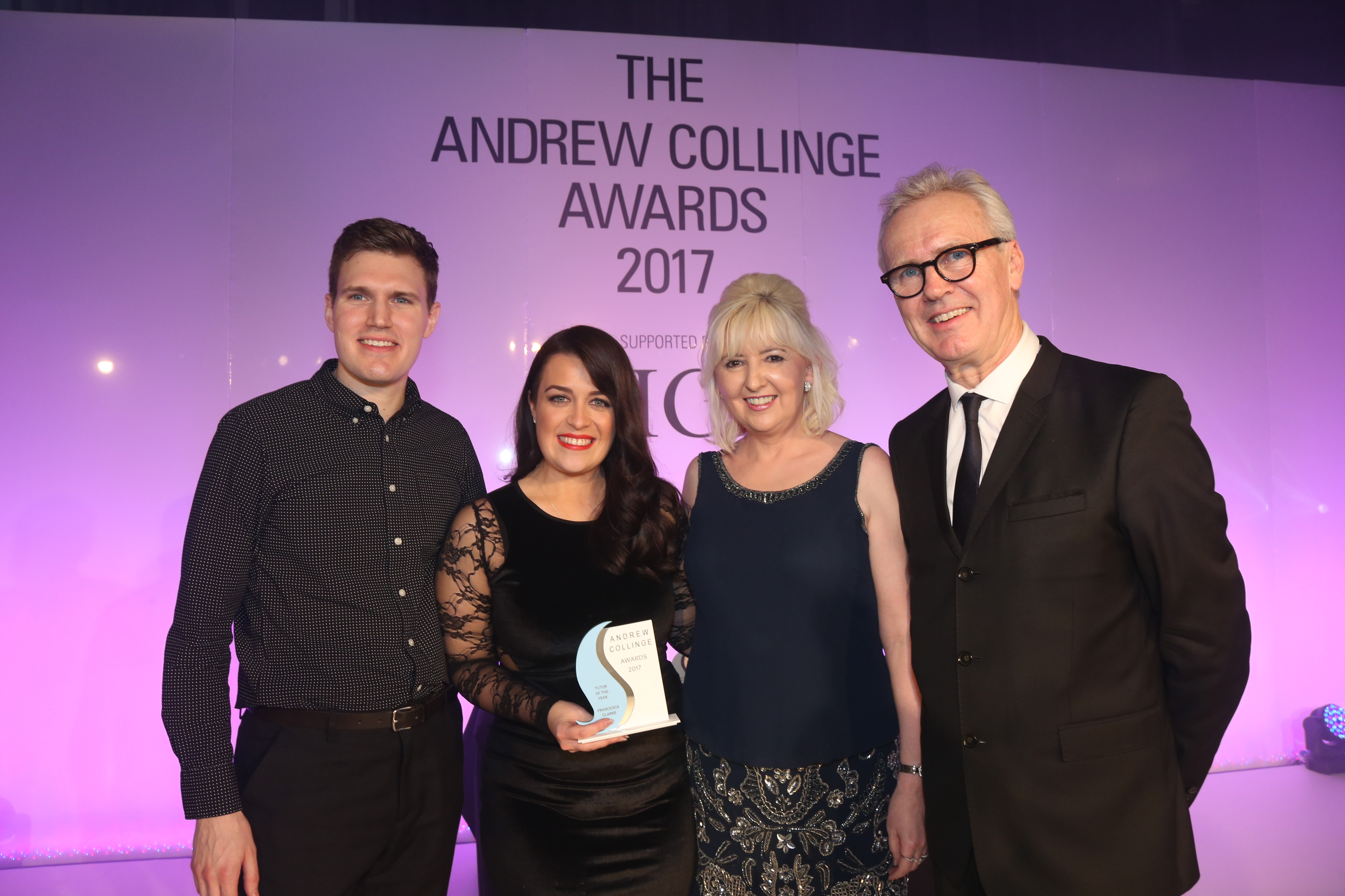 Francesca Clarke, Andrew Collinge Hairdressing Tutor of the Year